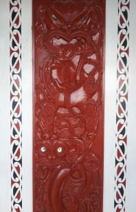 maori escultura